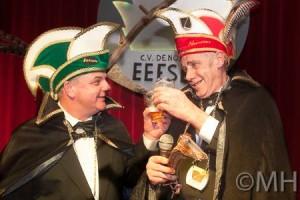 Prins André Huirne (Thooms) de eerste & Adjudant Gerry Klein Gunnewiek (Kollewee)